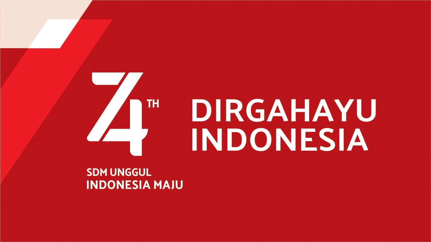 DIRGAHAYU INDONESIA KE-74